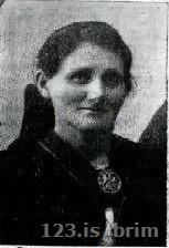 Krístín Ísleifsdóttir