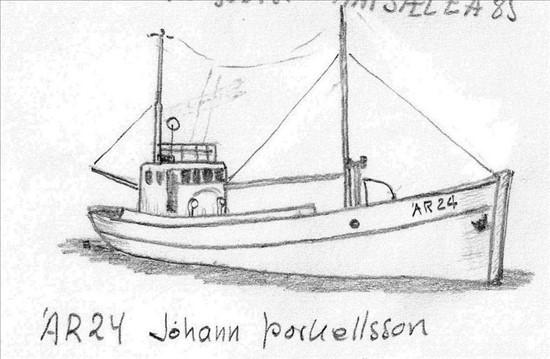 Jóhann Þorkellsson ÁR 24 -annar í röðinni