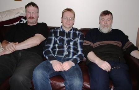 Gestur, Arnar og Guðmundur