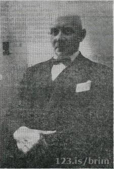 Kristján Guðmundsson formaður