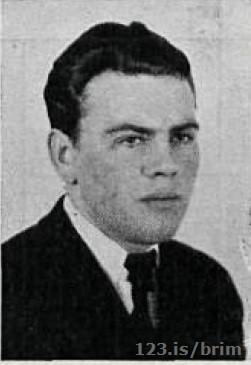 Jóhann Vilbergsson skipstjóri á Faxa