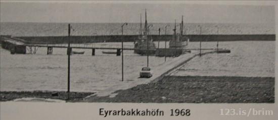 Eyrarbakkahöfn 1968