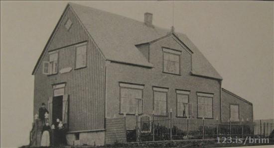 Stóra hraun var jafnað við jörðu 1937