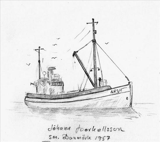 Jóhann Þorkelsson ÁR 24 - Þriðji og síðasti í röðinni.