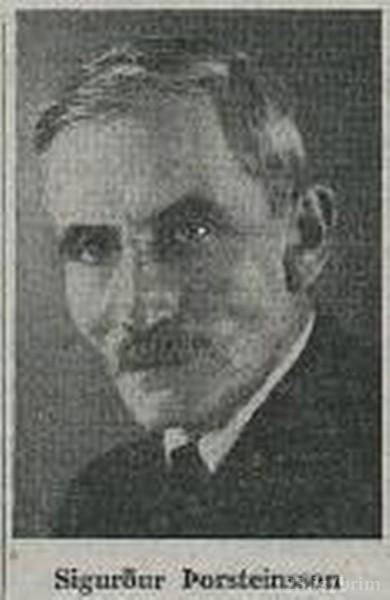 Sigurður Þorsteinsson