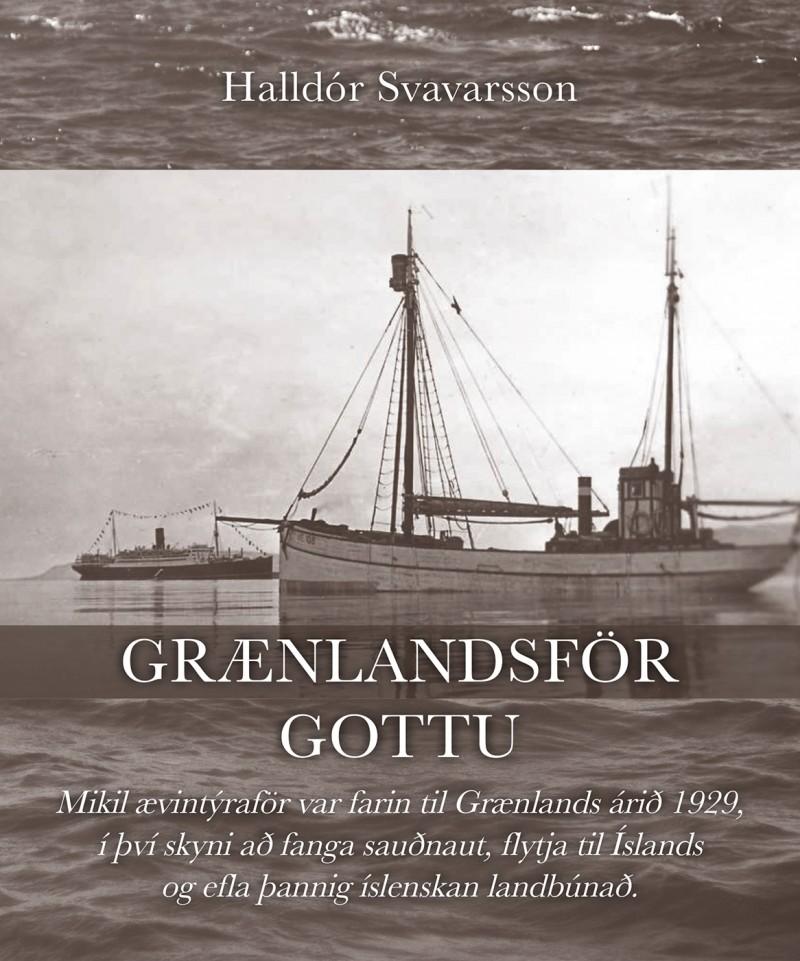 Bókin: Grænlandsför Gottu Höfundur: Halldór Svavarsson