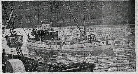 Guðbjörg ÁR 25. Mynd Sn.Sn. Alþýðublaðið 1965