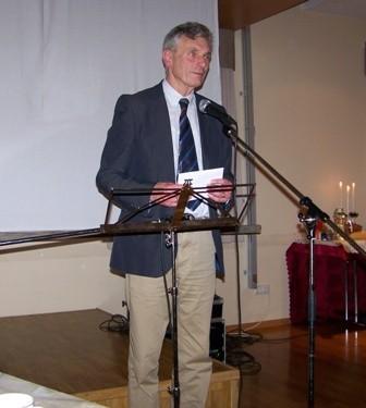 Bjarni E Guðleifsson formaður Hörgs