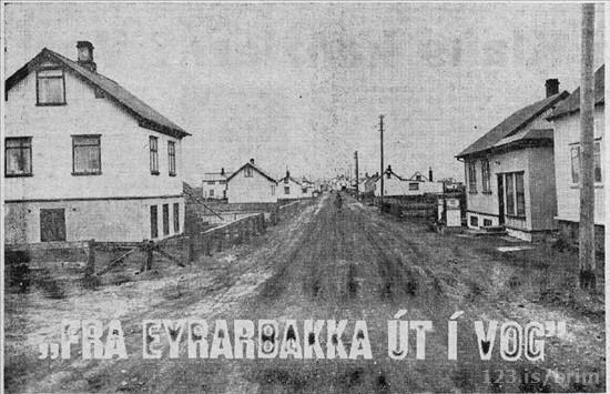 Götumynd Eyrarbakki 1964