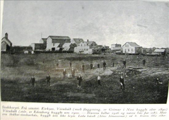 Stokkseyri um 1900