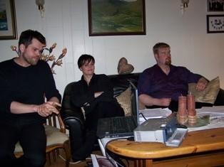 Sigurður Þór, Anna Guðrún og Guðmundur formaður