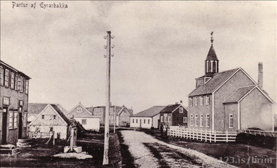 Eyrarbakki um 1920