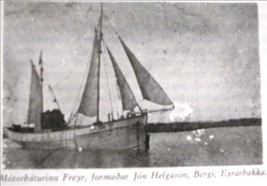mb. Freyr, skip Jóns Helgasonar