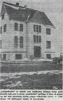 Litla Hraun 1967 mynd Vísir
